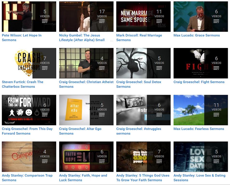 Youtube Sermon Messages